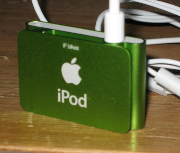 And an iPod shuffle for the IF road bike