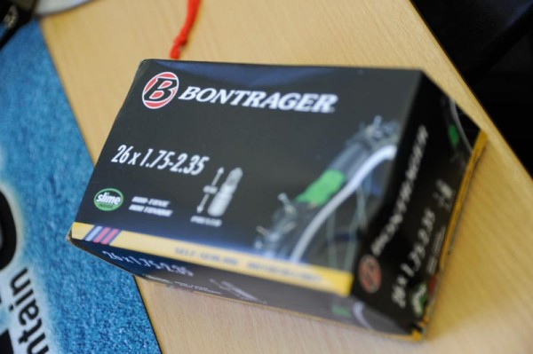Bontrager are now doing Slime-filled tubes. Quite hefty things they are as well.