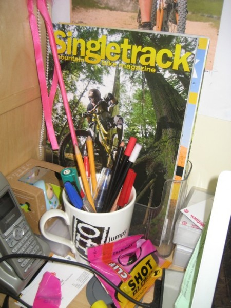 Better late than never. Singletrack issue 48.