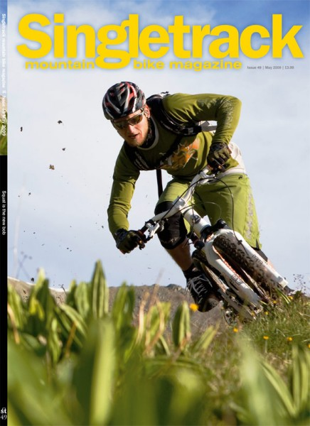 The subscriber and bike shop cover. Pic by Marco Toniolo.