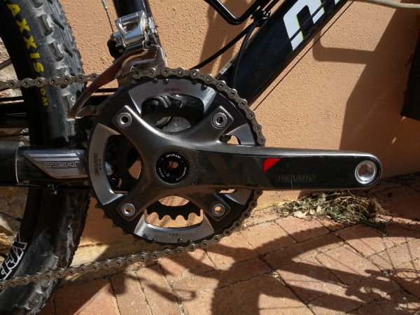 XX Cranks - carbon, bb30, two rings