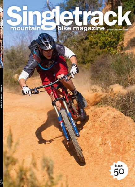 Subscriber and bike shop cover. Photo by Simon Cittati.