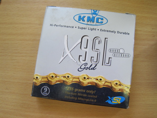 Useful stuff for bike builds Pt2 - a 9sp chain from KMC.