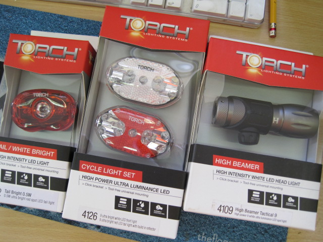 'Tis is the season for lighting up (boo!) - here's a pile of lights from Torch.