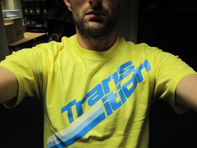 Nice t-shirt from Transition Bikes.