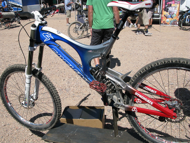 Peaty's winning bike
