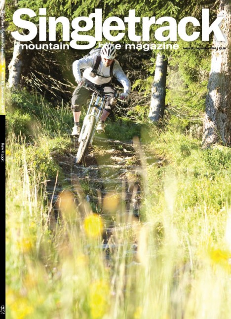 Subscriber and Bike Shop cover. Pic of Matt Letch in Morzine taken by Sim Mainey.