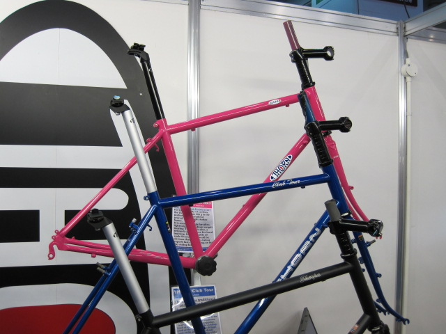Pink Audax bike from Thorn.