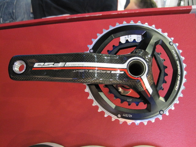 Something for the XC folks - FSA's two-ring 386 cranks.