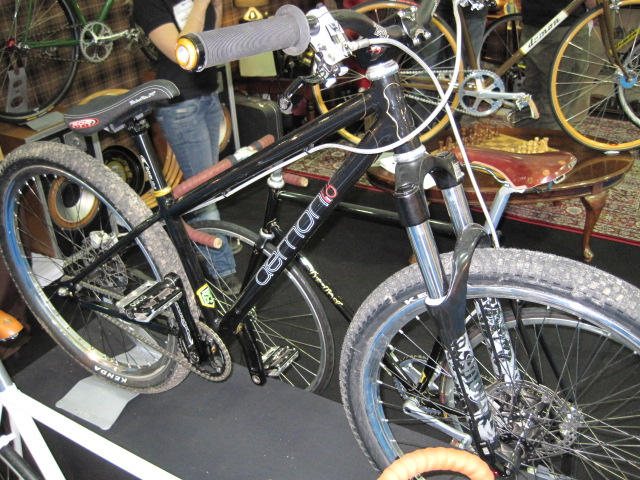 Yes, it really is a lugged jumpbike.