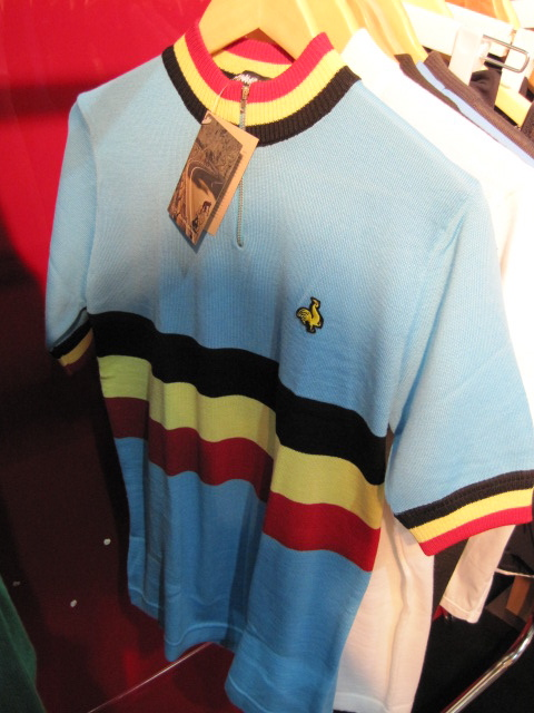 Ben got all excited when he saw this - he thought it was a Lyle & Scott cycle jersey. It isn't. It's from De Marchi.