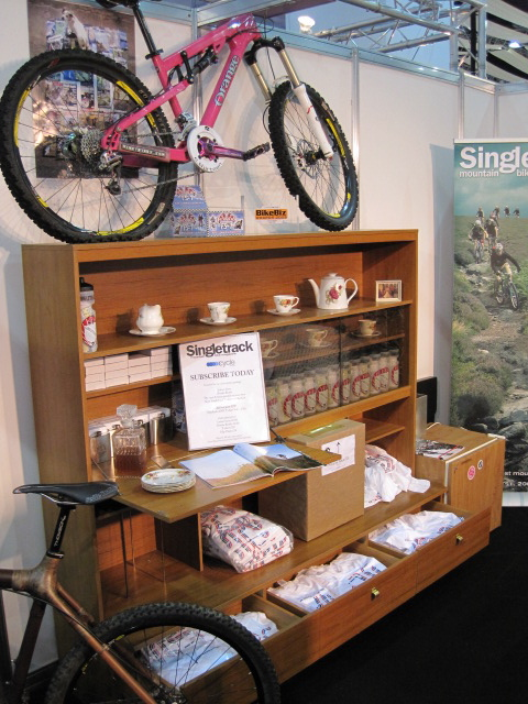 "MOre from the ""stand of the show"". Singletrack Magazine's mega-sideboard."