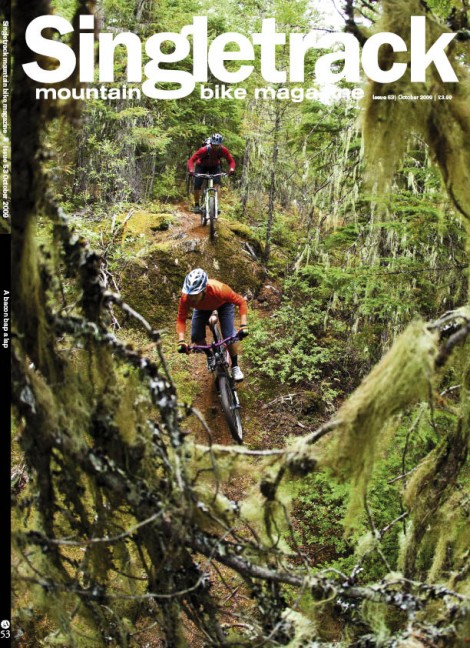 Subscribers' and bike shops' cover. Pic by Dan Barham.