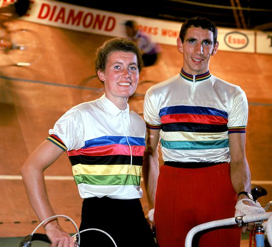 Beryl Burton and Graham Webb
