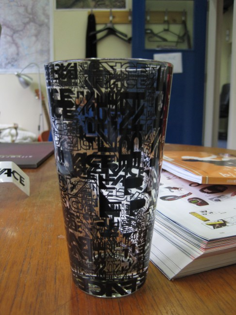 RaceFace Pint Glass