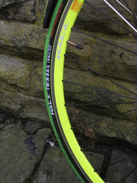 Halo Aerorage Track Wheels rim