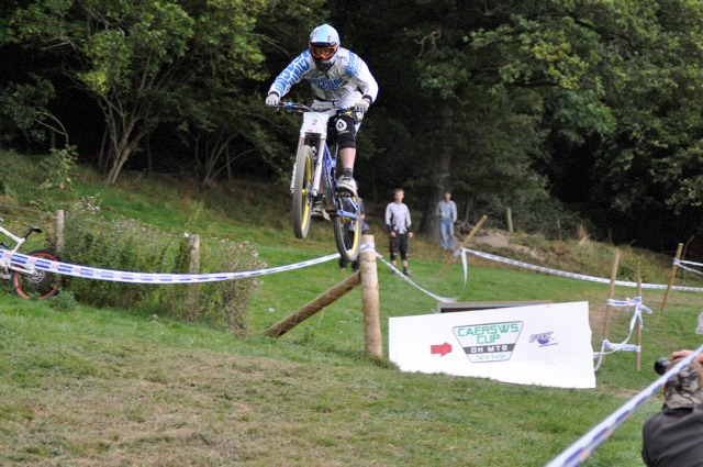 Matt Simmons at the Caersws Cup